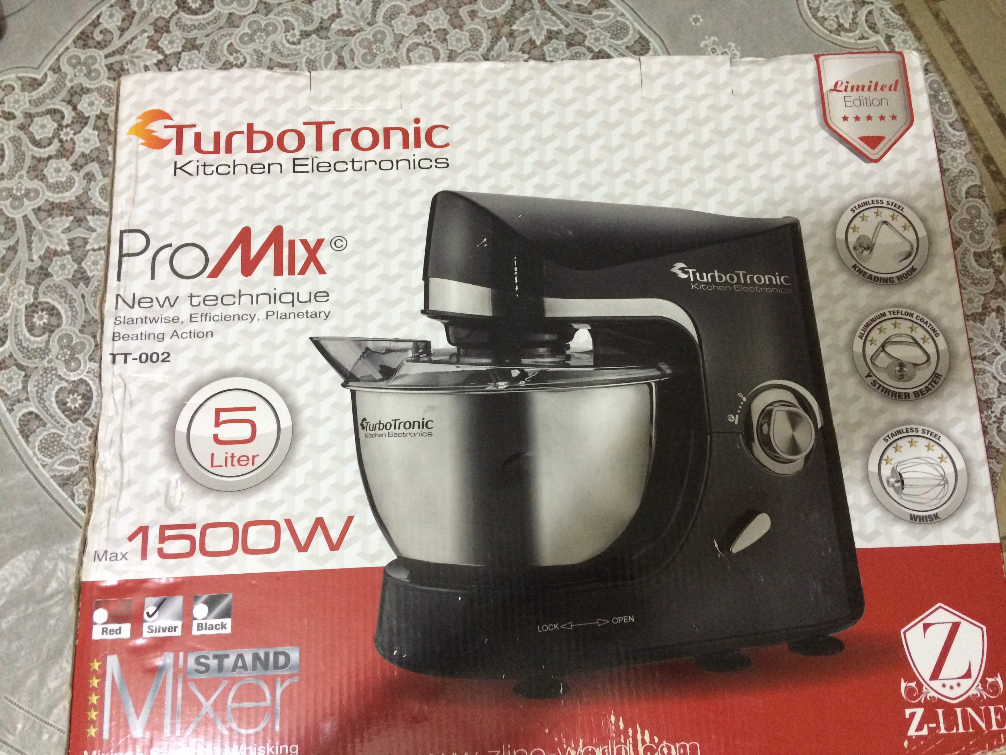 Pétrin TurboTronic 1500W ouedkniss
