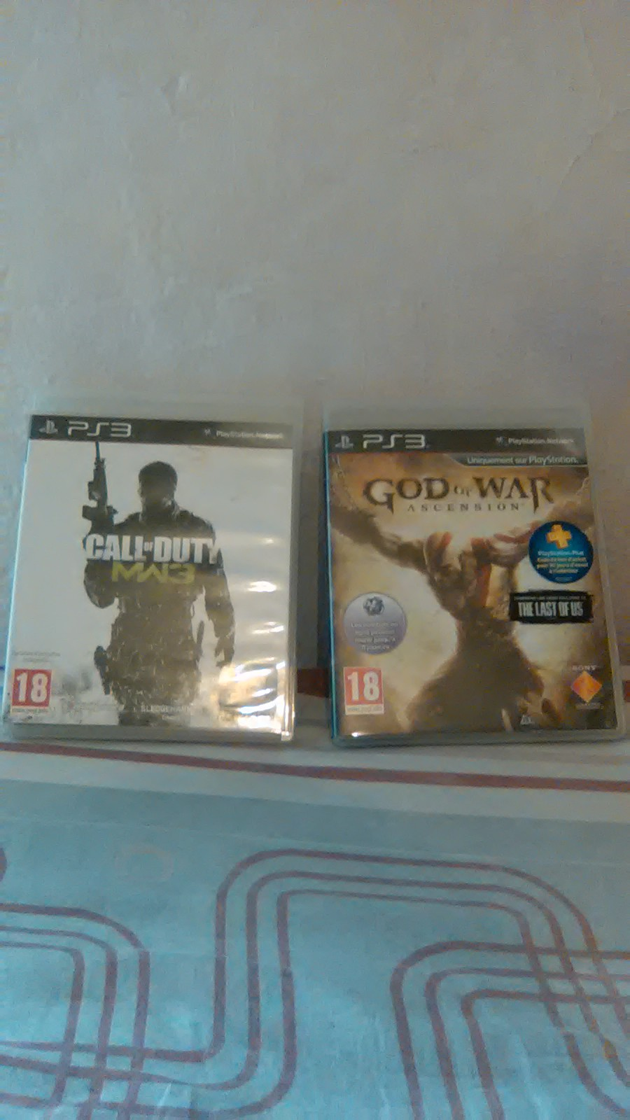 jeux ps3 god of war et call of duty wm3 ouedkniss