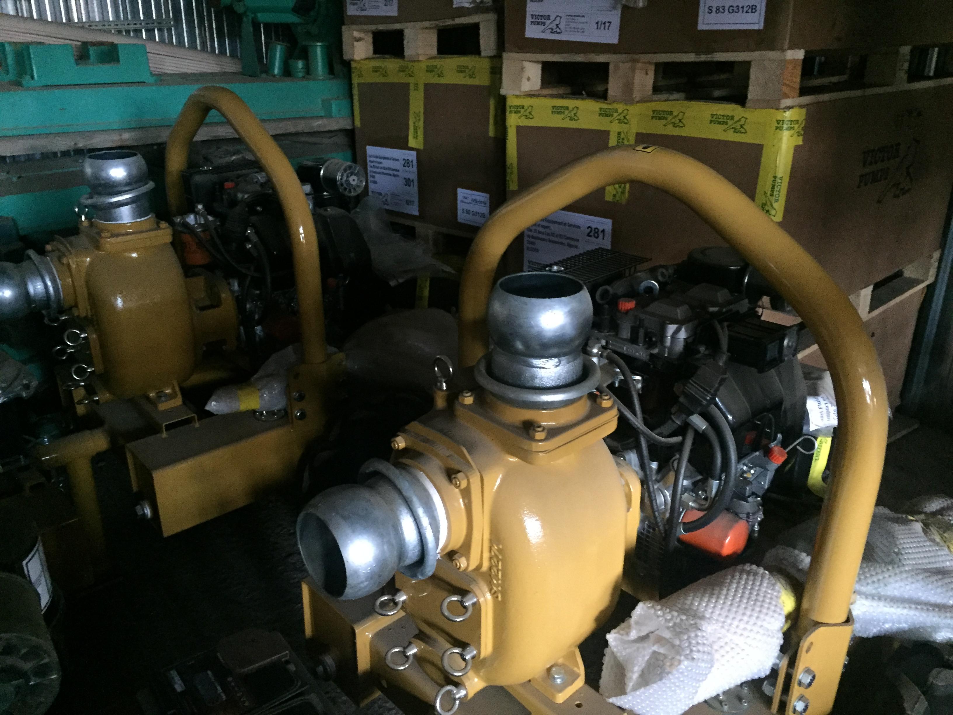 Vente Motopompe Diesel de Chantier contre les Inondations ouedkniss