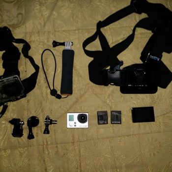 GoPro Hero 3+ silver edition ouedknisse