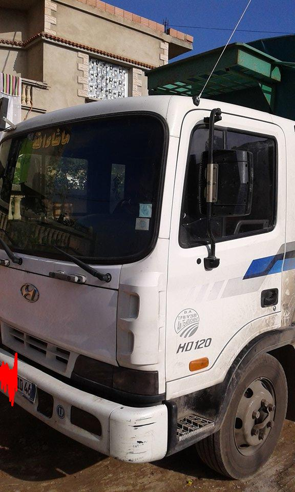 camion hyundai hd 120/2010 ouedkniss
