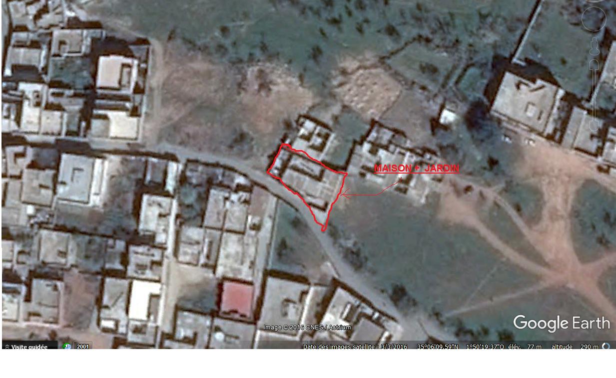 maison=457M² (Bati=170M²) a vendre à SIDI AMAR -GHAZAOUET- TLEMCEN ouedkniss