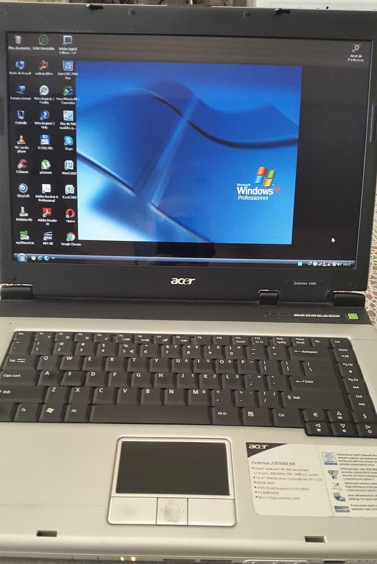 Laptop Acer Extensa 2300 ouedkniss