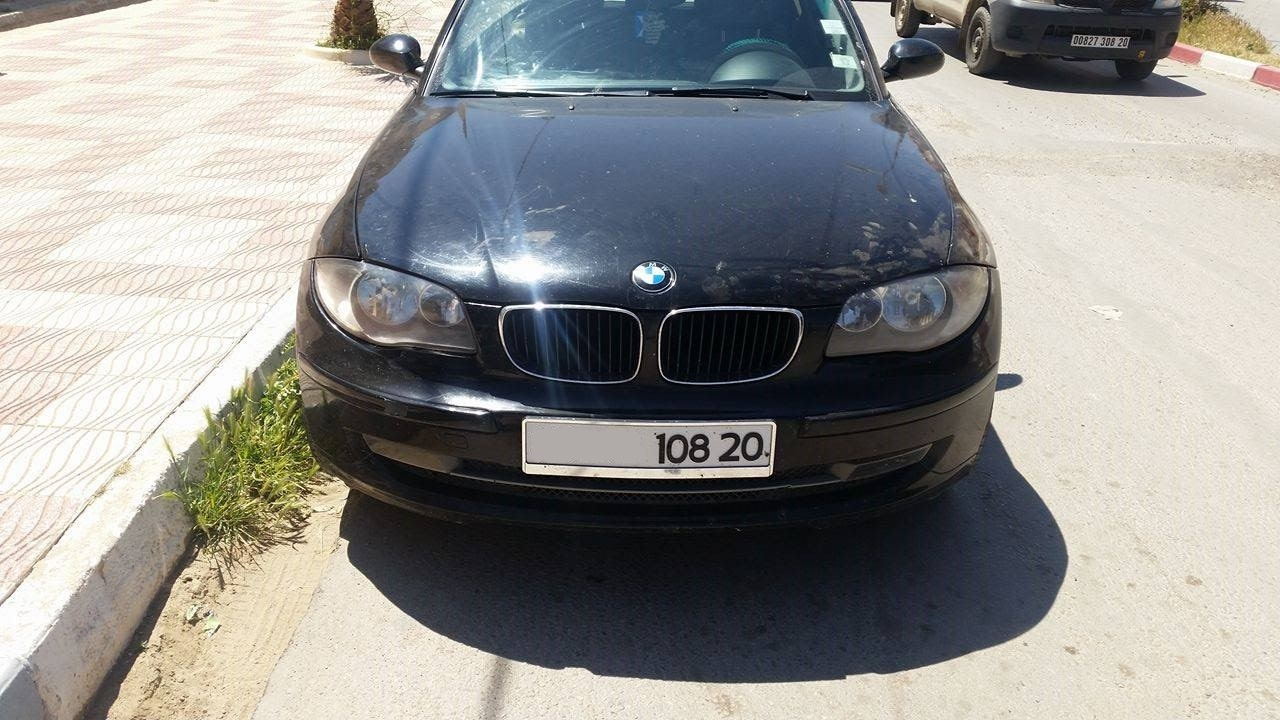 BMW serie1 ouedknisse