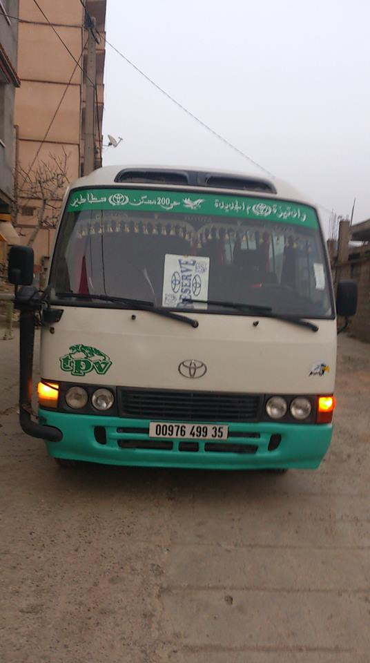 toyota coaster a vendre ouedkniss
