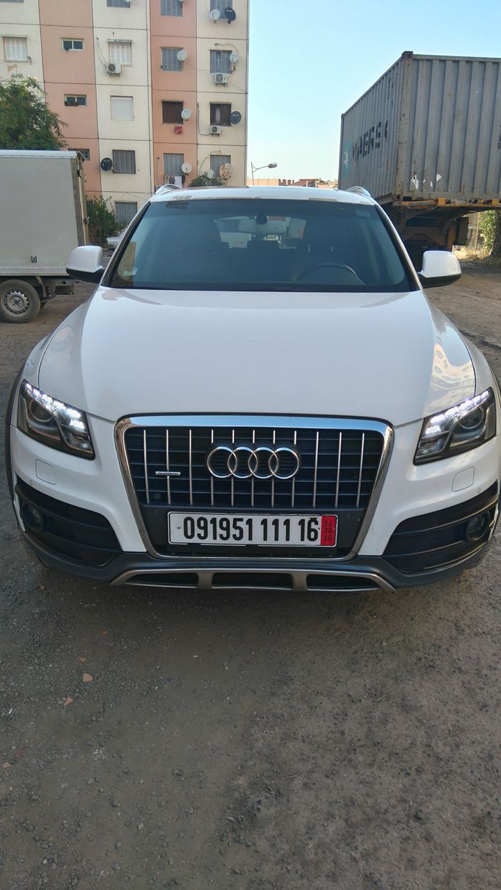 Audi Q5 Off Road Pack Tech 2011 ouedknisse