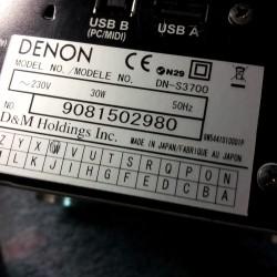 Platine Dj Denon S3700 ouedkniss