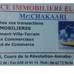 agence elfeth: location F2 3éme étage à el-bouni annaba contacté le 0663725684 ouedkniss